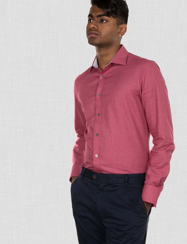 Loxton Textured Cotton Shirt