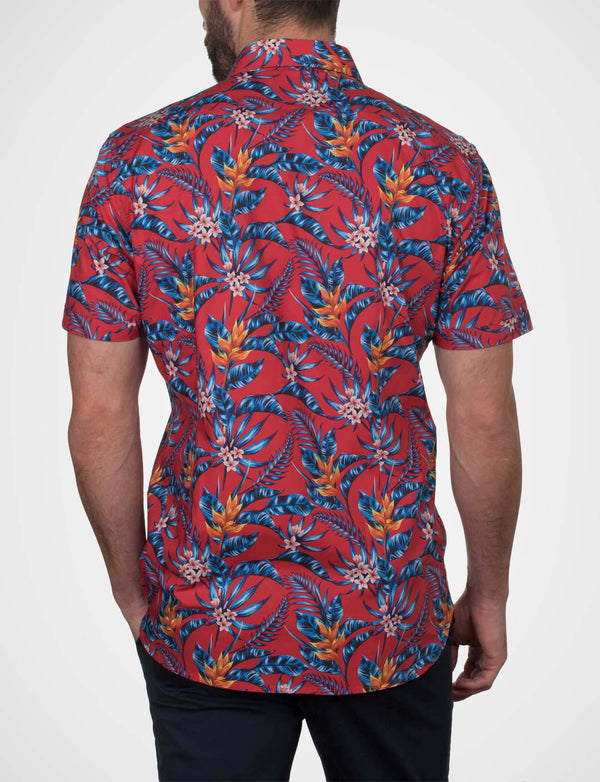 Chambers Hawaii Floral Print Shirt (Short Sleeve)