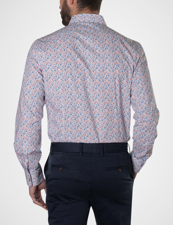 Michael Leunig 'Odd Birds' Long Sleeve Print Shirt (Limited Edition)