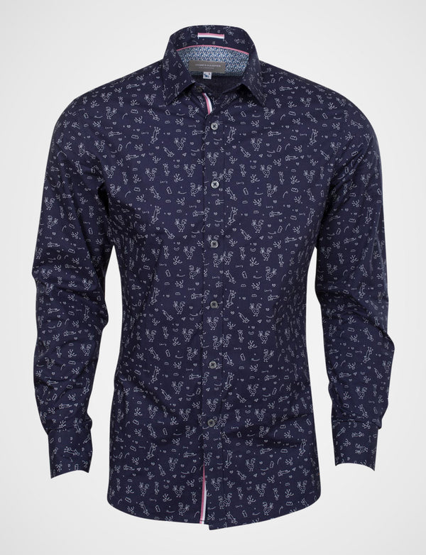 Michael Leunig 'The Arrival of Spring' Long Sleeve Print Shirt (Limited Edition)