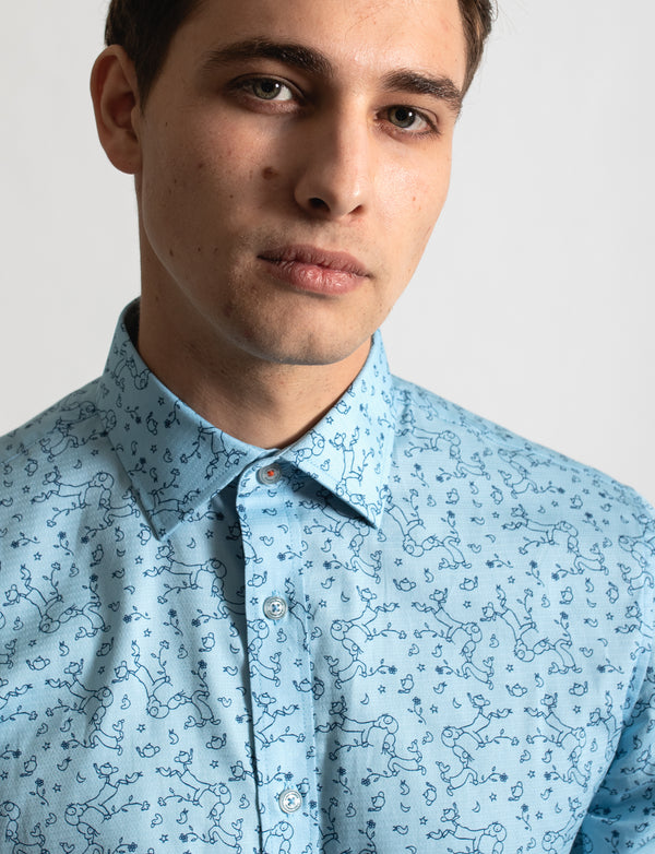 Michael Leunig Affection Print Shirt (Limited Edition)
