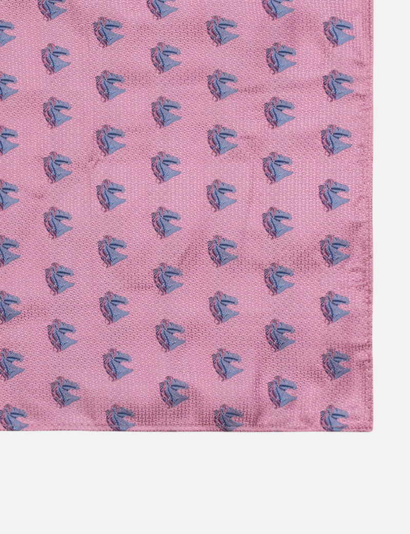 Horse Head Pocket Square