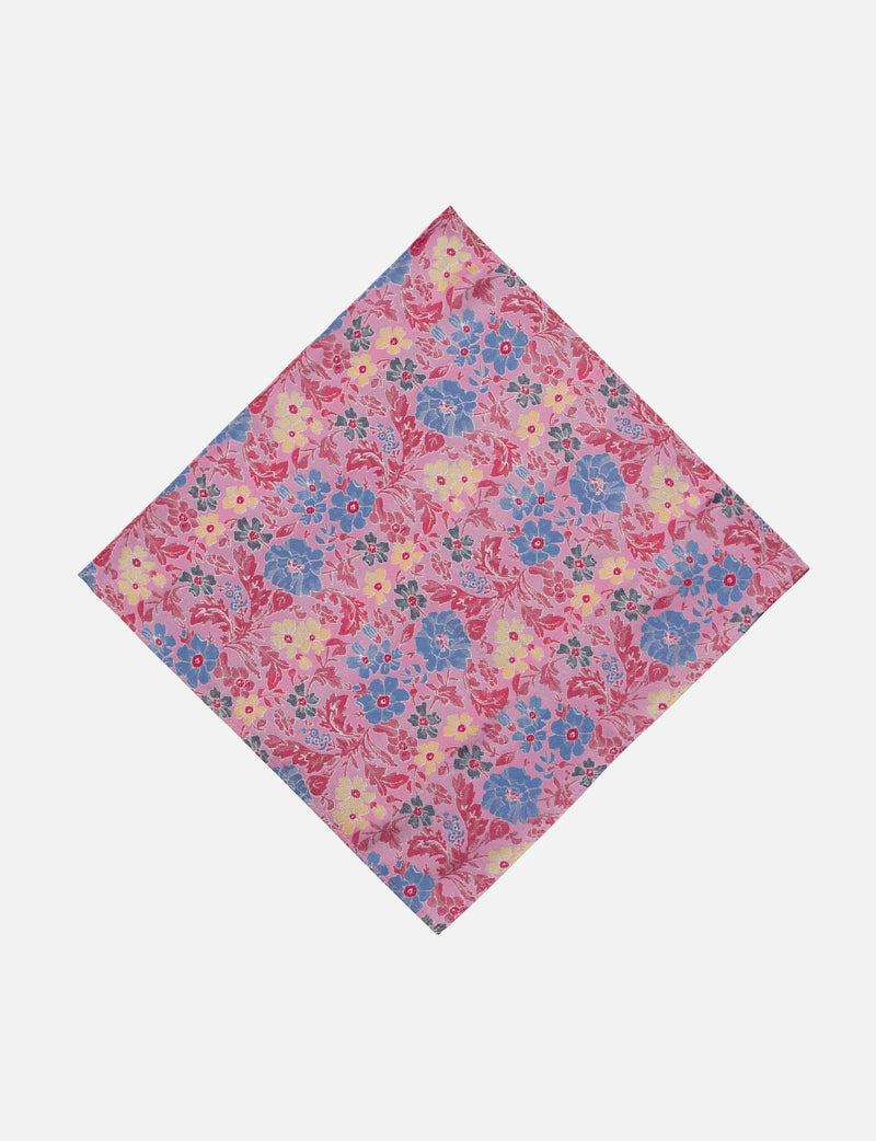Floral Garden Pocket Square