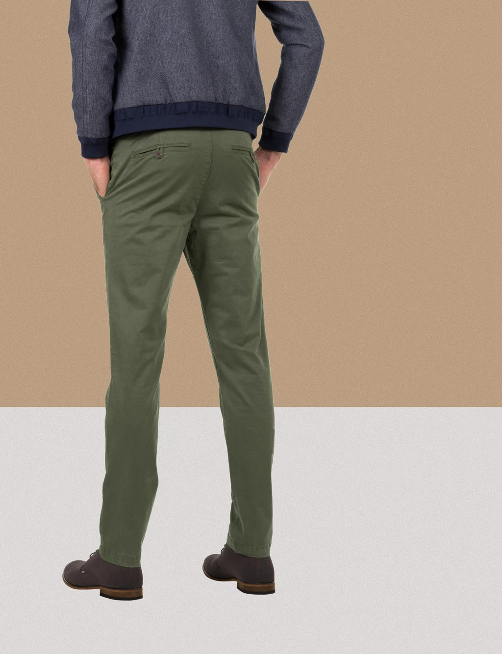 The Green Winter Chino