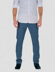 Airforce Blue Chino Pants
