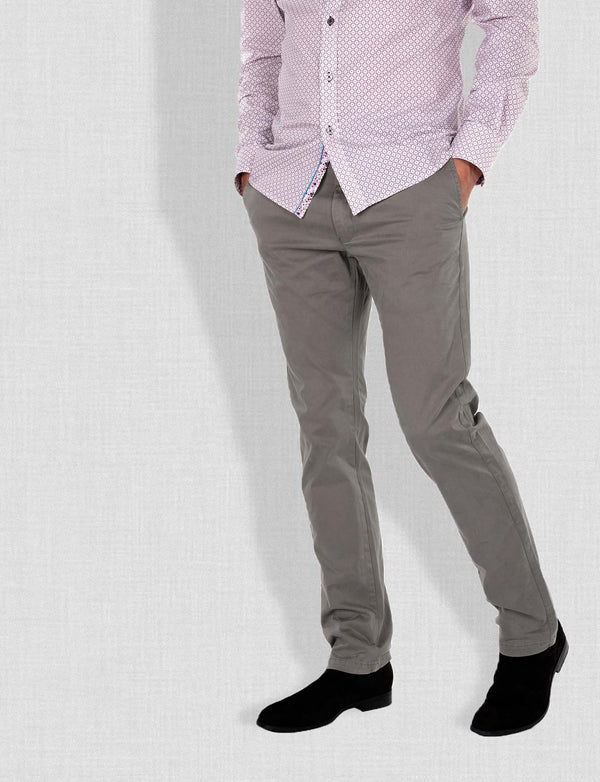 Grey Chino Pants