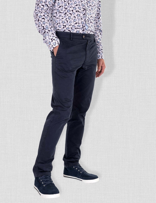 Light Navy Chino Pants