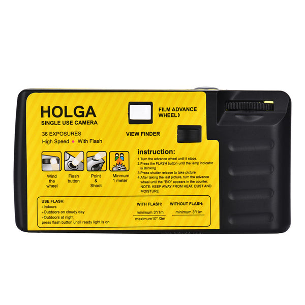 Holga 35mm Single Use Camera - Yellow Filter edition