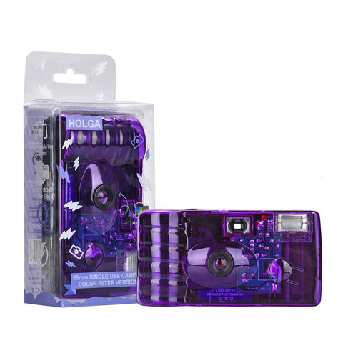 Holga 35mm Single Use Camera - Purple Filter edition