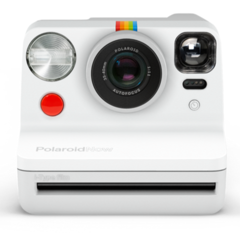 Polaroid Now i‑Type Instant Camera - White