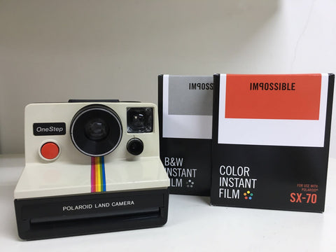 Polarod OneStep Camera Package (Rainbow)
