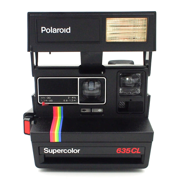 Polaroid Supercolor 635CL Instant Camera & FIlm package