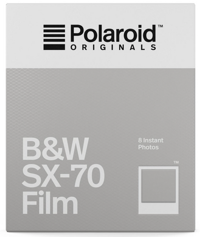B&W Film For SX-70 EXP 01/19 (EXPIRED)