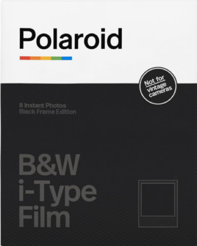 B&W Film for i-Type Black Frame Edition