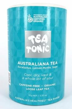 Australiana Tea - Tube of Loose Leaf 95g