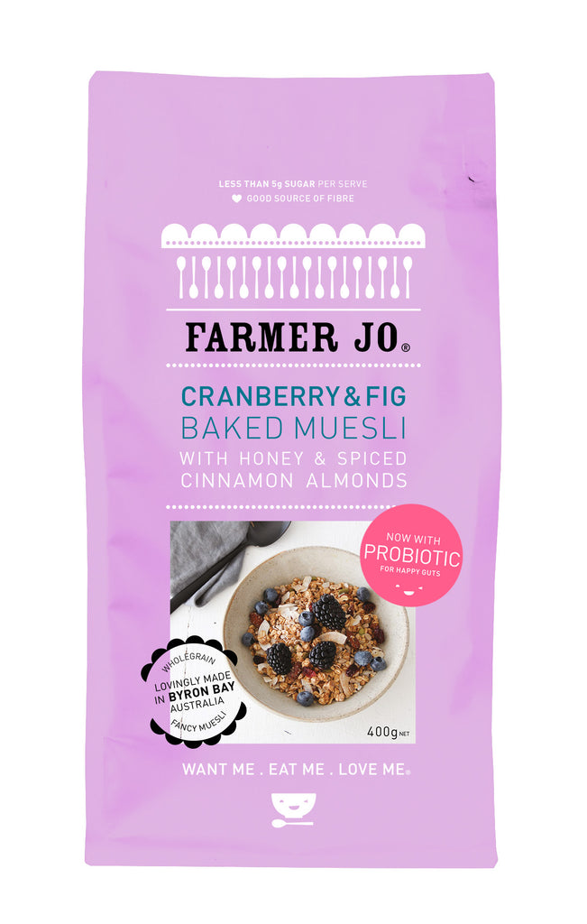 Cranberry & Fig Baked Muesli (Set of 5 * 400 g)