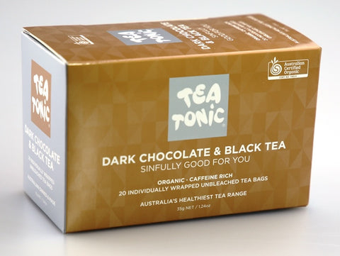 Dark Chocolate & Black Tea - 20 Tea Bags