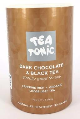 Dark Chocolate & Black Tea - Tube Loose Leaf 170g