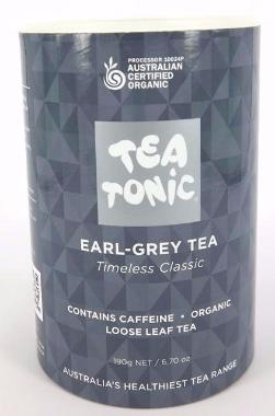 Earl Grey Tea - Pouch Loose Leaf Tea 190g