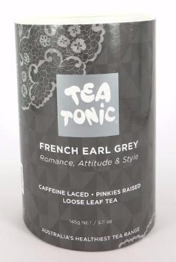 French Earl Grey Tea - Tube Loose Leaf 145g