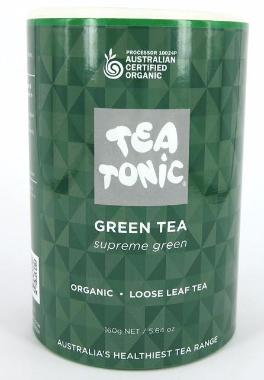 Green Tea - Tube Loose Leaf 160g