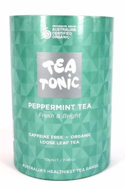 Peppermint Tea - Tube Loose Leaf 70g