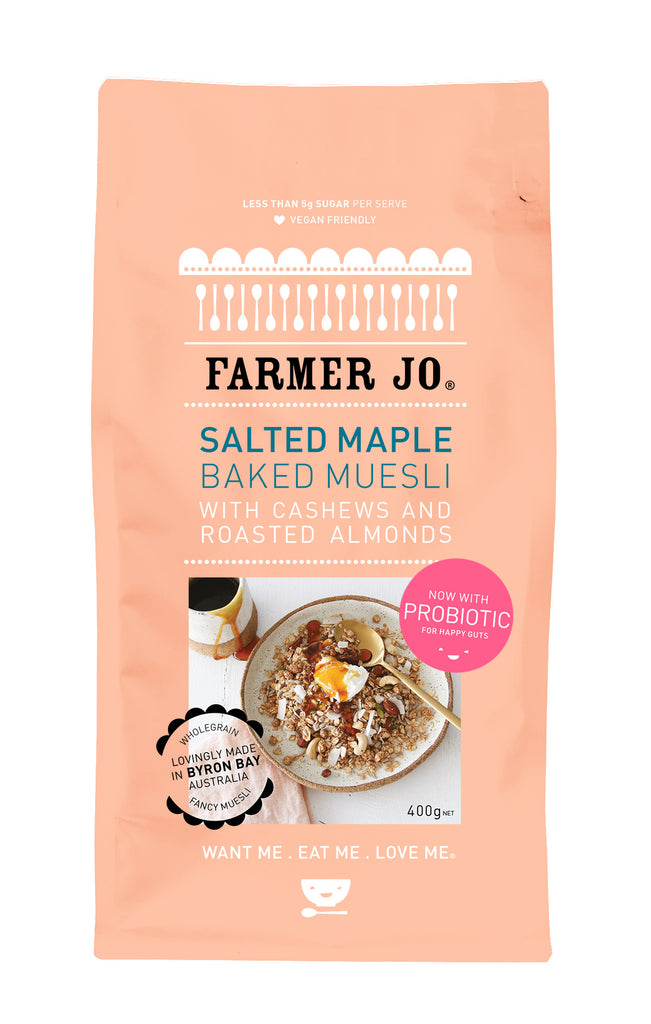 Salted Maple Baked Muesli - 5