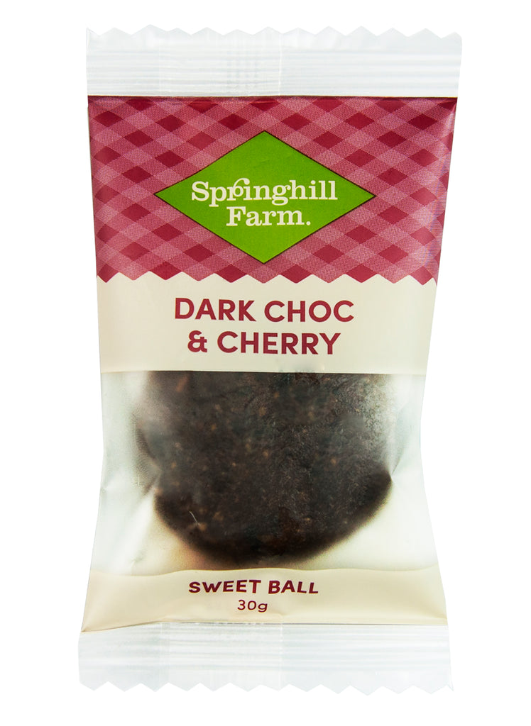 Dark Choc & Cherry Sweet Balls 16 x 30g