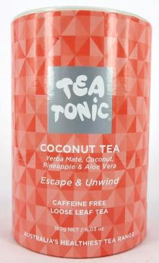 Coconut Tea - Tube Loose Leaf 180g