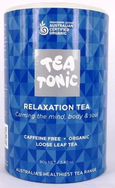 Relaxation Tea - Tube Loose Leaf 90g