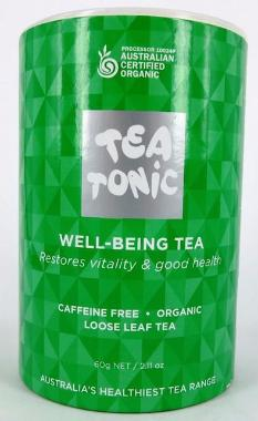 Well-Being Tea - Tube Loose Leaf Tea 60g