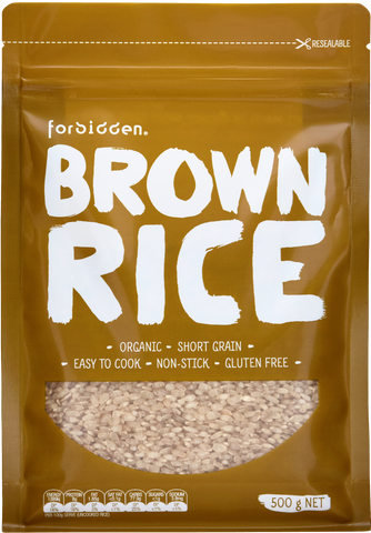 Forbidden Organic Brown Rice 500g x 6