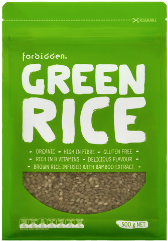 Forbidden Organic Green Rice 500g x 6
