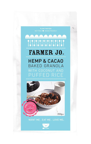 Hemp and Cacao Granola (Set of 5 * 400 g)