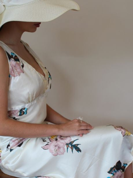 Hummingbird Cream Vintage Two Piece