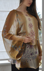 Indian Summer Kaftan close up
