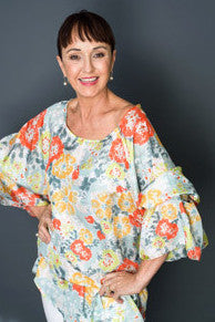 Kaftan Blouse Spring Garden ON SALE NOW