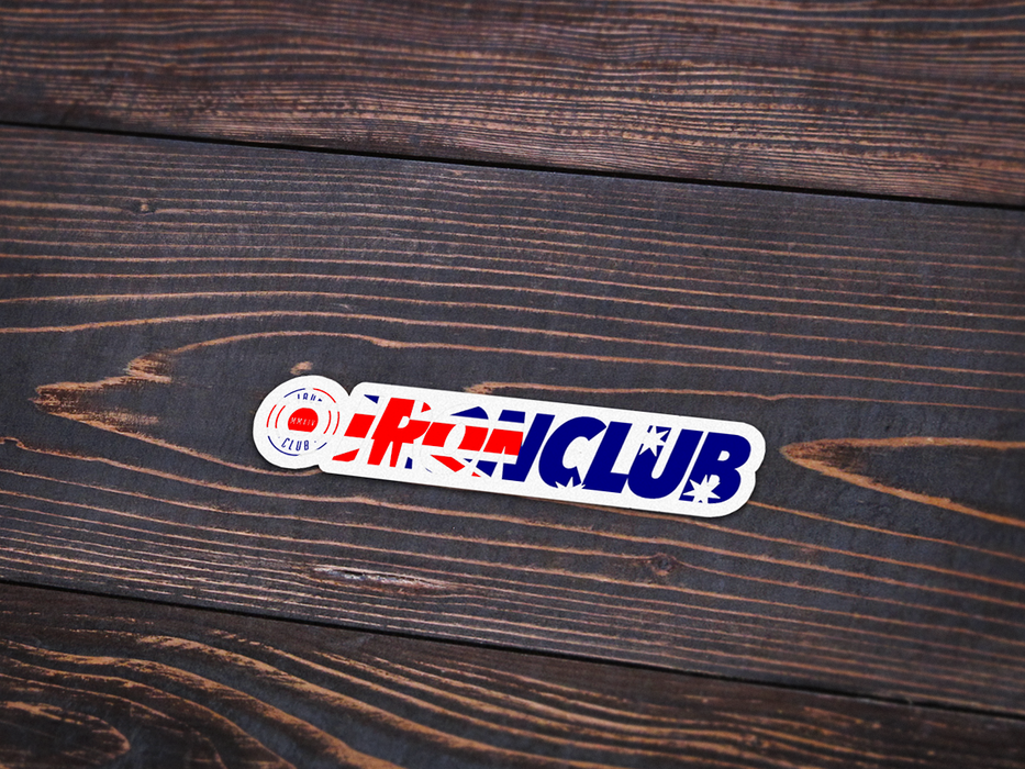 NEW Ironclub Sticker Pack Vol. 1
