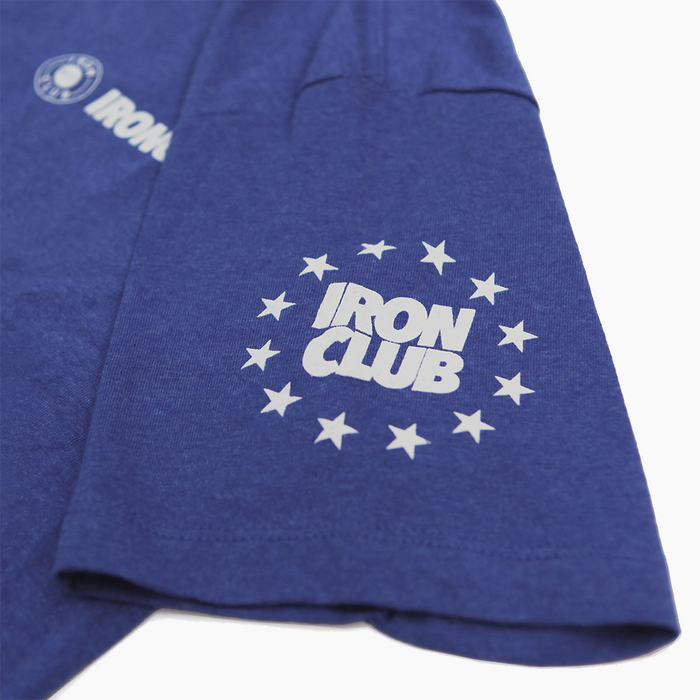 Ironclub Competition Tee - Heather Royal Blue