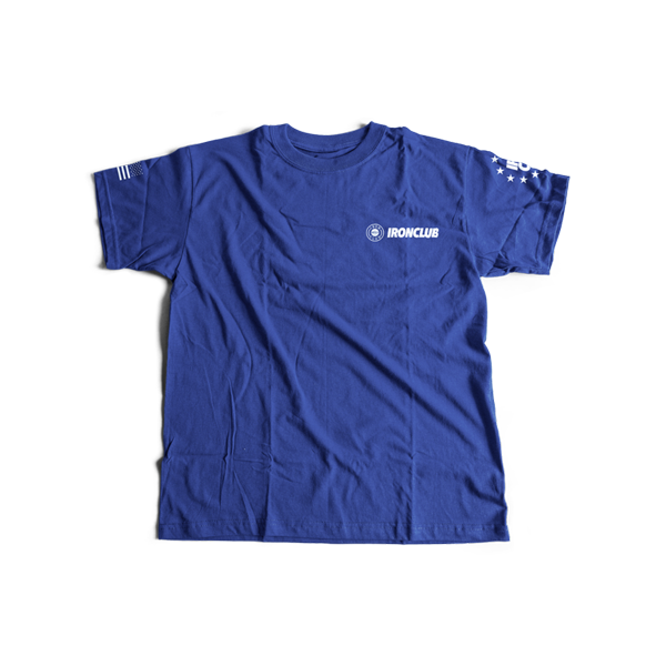 """Competition"" Tee - Heather Royal Blue"