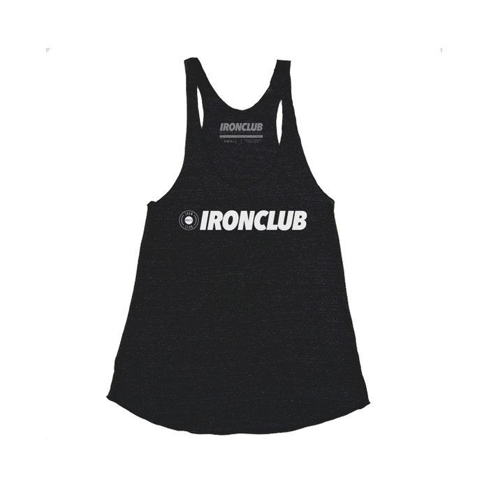 """BASE"" Women's Racerback - Black Heather"