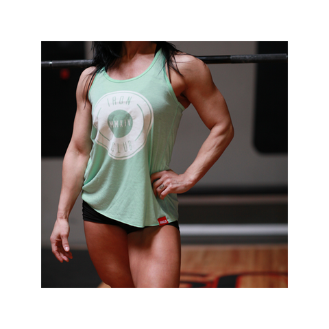 "NEW - ""HB"" Mint Racerback Tank"