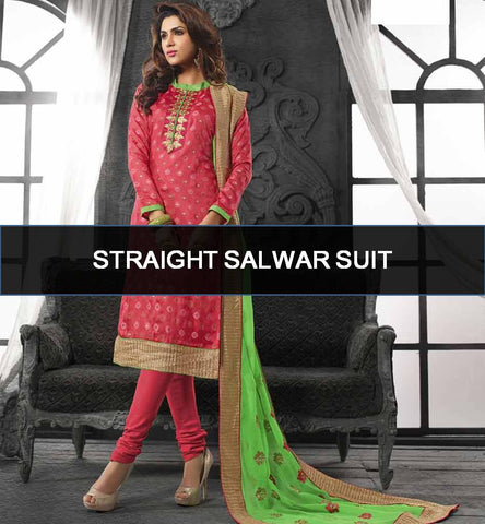 Straight Salwar Kameez - The Sophisticated Style Icon