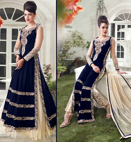 ZOYA EMPRESS SUITS PRIYANA FASHIONS SURAT 10004