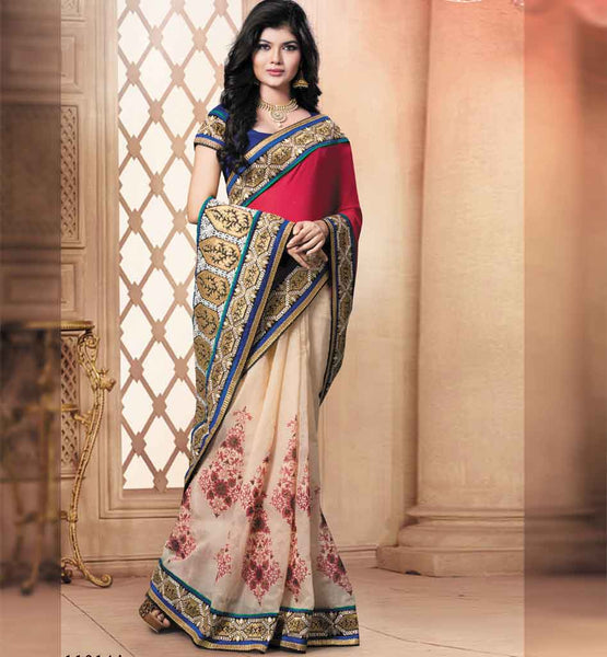 Cool Party wear saree Rate Rs, 3710.00