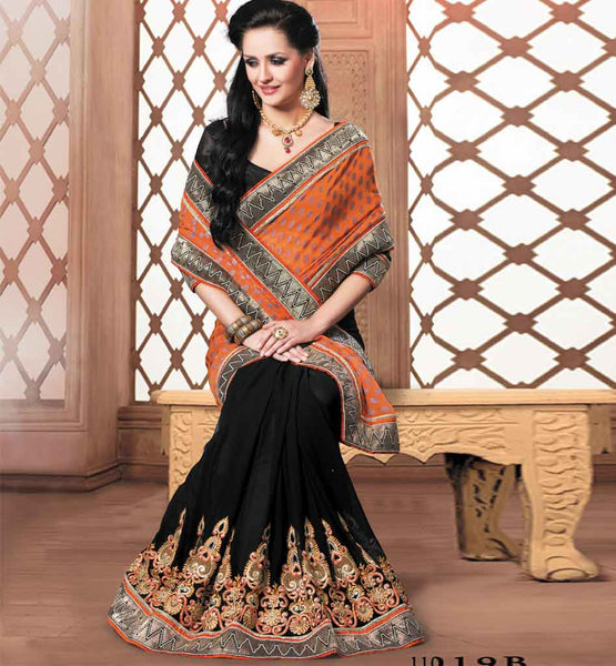 Exciting Party Wear Saree Vdriw11019b - Rate Rs. 3340.00
