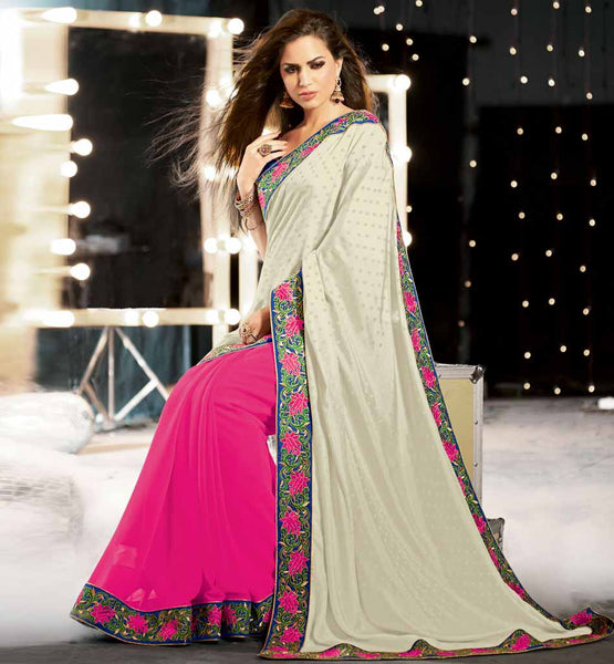 Party Wear Sarees Online Shopping In India With Blouse By Stylish Bazaar Rate Rs. 3725.00 Design Code - Rtkub2312.