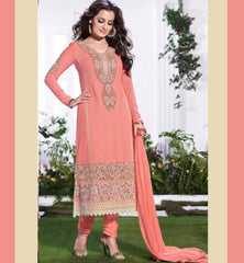 Dia Mirza embroidered salwar suit