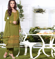 Dia Mirza Dark green suit