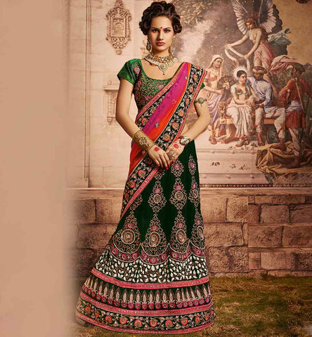 EVERSTYLISH BRIDAL LEHENGA SAREE BLOUSE DESIGNS FOR INDIAN BRIDES